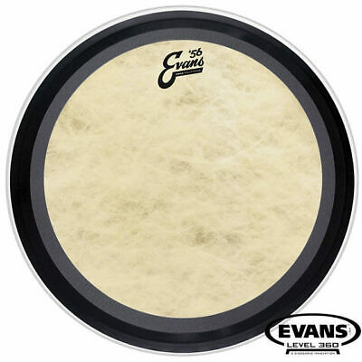 Evans Calftone 56 Emad 22 inch Bass Drum Skin Head Level 360 BD22EMADCT
