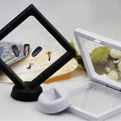 Nail Art Gel Polish Photo Frame Display Board Double-sided Color Chart Stand