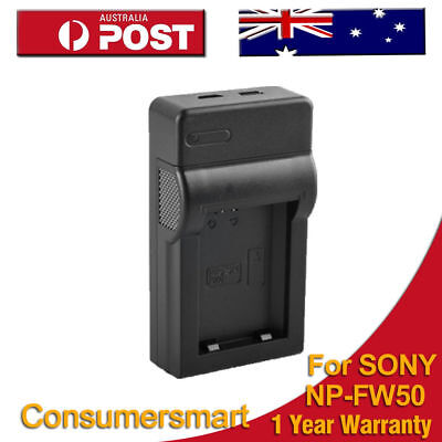 NP-FW50 NPFW50 Charger For Sony Alpha 5 5A 5AS NEX-3C 3A 3K 5H AU local