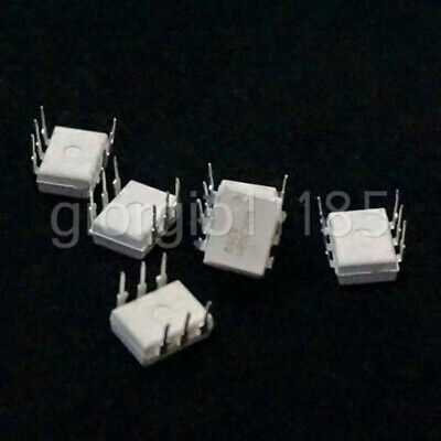 US Stock 10pcs MOC3081 DIP-6 FSC Zero-cross Phototriac Driver Optocoupler