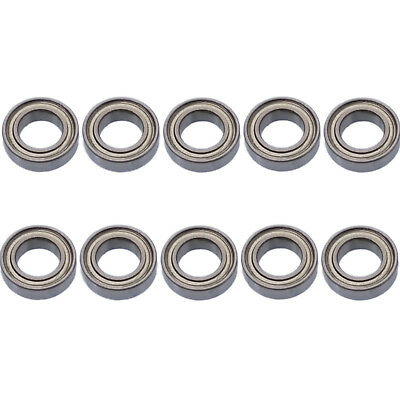 US Stock 10pcs MR148zz Mini Metal Double Shielded Ball Bearings 8mm x 14mm x 4mm