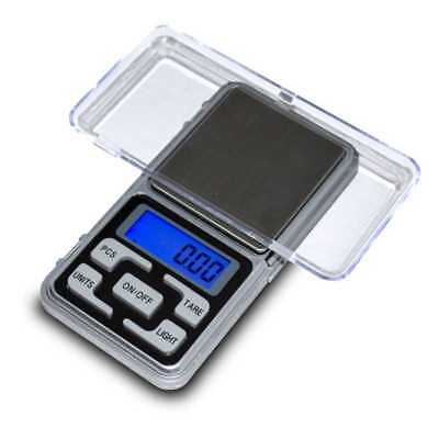 Mini Bascula Digital Precision Balanza 0,01g A 200g Display LCD Tara Con Pilas