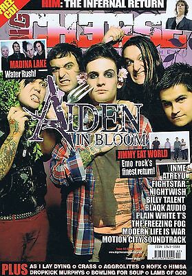 AIDEN / HIM / AS L LAY DYING / CRASS Big Cheese no. 92 Oct 2007