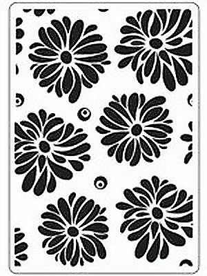 Crafts Too Embossing Folder -flowers