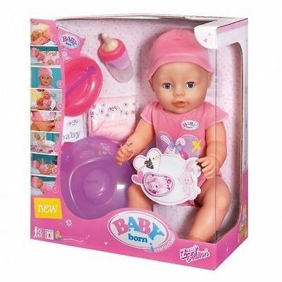 Baby Born Interactive Doll Pink Girl Doll New – Sealed