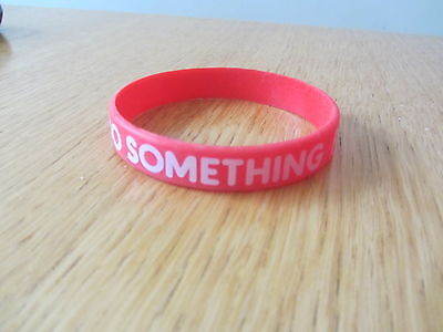 Red Nose Day Comic Relief Wristband - Do Something Funny for Money