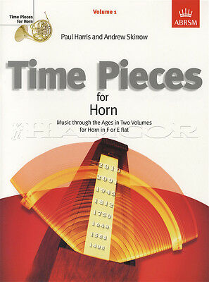 Time Pieces for Horn Volume 1 Sheet Music Book French Eb F Classical