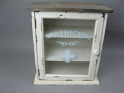 Vintage Home pharmacy Wall cabinet shabby 36cm Wall cupboard Wood Country house