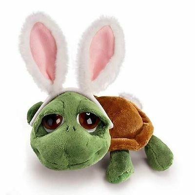 Soft Toy Turtle with Bunny Rabbit Ears Childrens Christmas Gift, SHECKYBUNNY