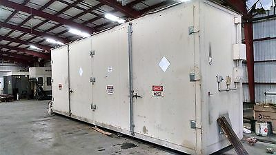 Denios Hazardous Material Storage Container 48 Drum w/ climate control