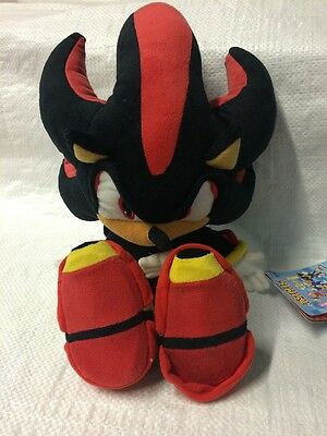 Sonic The Hedgehog Shadow Sega Soft Cuddly Toy