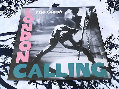 The Clash - London Calling Lp ( Cover Only ) Ex!!! Uk 1St Issue Cbs Clash 3