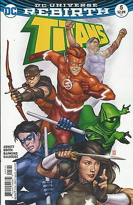 DC Titans Rebirth comic issue 5 Limited variant