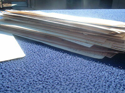 1880-90's HUGE (50+) Old Colony Railroad,Stock,Shares,Signatures,Document Lot