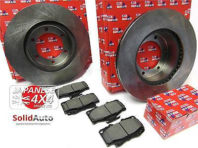 fits: TOYOTA HI LUX SURF LN130 1989-91 *2 x OE QUALITY FRONT BRAKE DISCS & PADS*