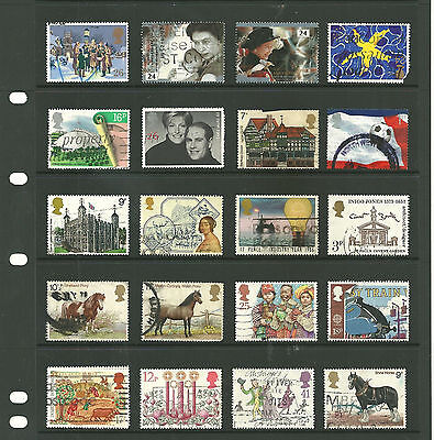 GB 3 stock sheets sideways commemorative mix collection stamps