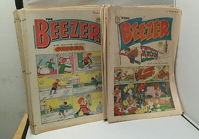 The Beezer comic collection 1986 24 Issues and 18 x 1988