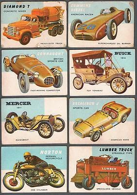 1953 Topps R714-24 World on Wheels Trading Cards Complete Set of 160