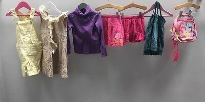 Girls Bundle Of Clothes. Age 4-5. Gap, Peppa Pig, My Little Pony.  A2407