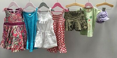 Girls Bundle Of Clothes. Age 4-5. Monsoon, Next, H&M.  A2403