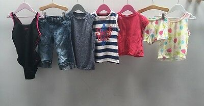 Girls Bundle of Clothes. Age 6-7. Miss Evie,map, Tu. <A2265