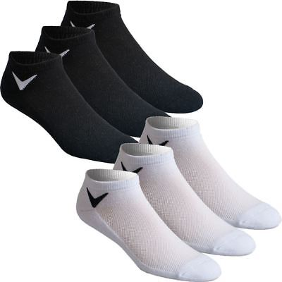 48% OFF Callaway Tour Authentic Mens Sport Series Low Cut Golf Socks- Pack of 3