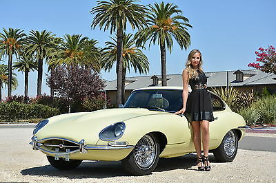 1966 Jaguar E-Type  GARAGED SERIES 1 E-TYPE COUPE EXCLNT BODY GAPS SOLID ORIGINAL METAL RESTORED