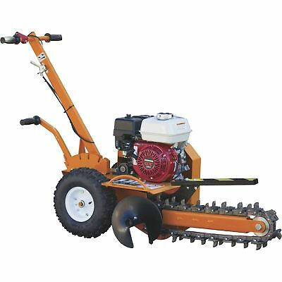 Brave Pro BRPT Compact Chain-Type Trencher- 18in Depth 163cc GX160 Honda Engine