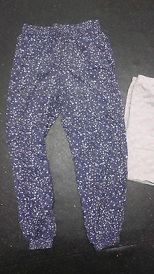 girls small bundle hareem trousers and shorts size 9/10
