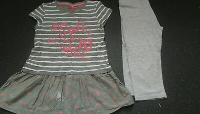 Girls next dress and leggings age 11