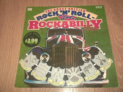 "Various "" The Great British Rock 'n' Roll Rockabilly Album "" Vinyl Lp Ints 5042"