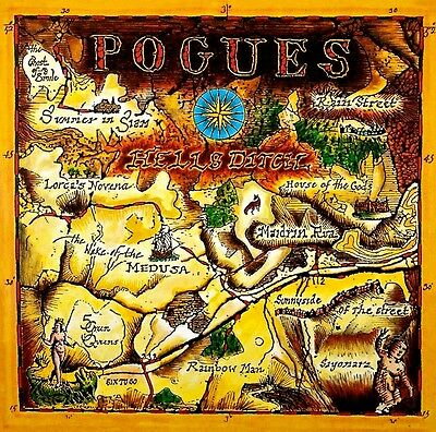The Pogues - Hells Ditch.   New Sealed Vinyl  Lp  Record + Mp3 Download
