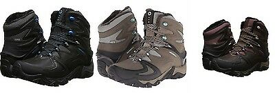 972d9d0838e WOMEN BLACK SLATE Merrell Polarand Rove Peak Waterproof Winter Snow ...