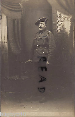 WW1 soldier Pte Walter Harlock 11th Royal Scots Fusiliers at Ramsgate 1918