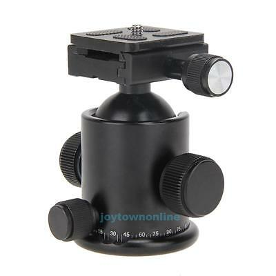 "Professional 12KG Ball Head+Quick Release Plate for 3/8""Screw Tripod DSLR Camera"