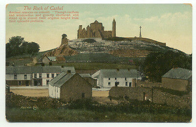 The Rock Of Cashel Old Postcard - Tipperary Ireland