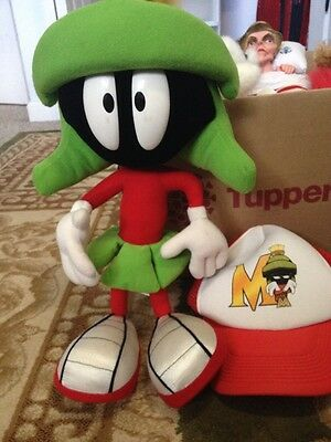 Marvin The Martian Plush And Hat, Cap, Baseball Hat