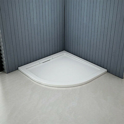 800x800x40mm Quadrant Shower enclosure Tray Free Hidden Waste NEXTDAY DELIVERY