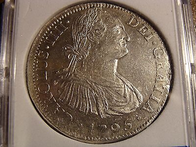 * 1795 MO FF Mexico 8 Reales - nice condition !