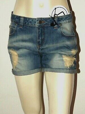 PENN RICH By WOOLRICH SHORT JEANS SIZE Sm LPANTALONCINI DENIM SHORTS TWIST