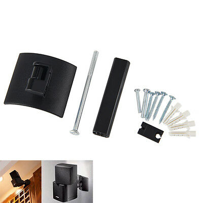 Wall monte Clamping soporte Fit For Bose UB-20 altavoz negro made Plastic+metal