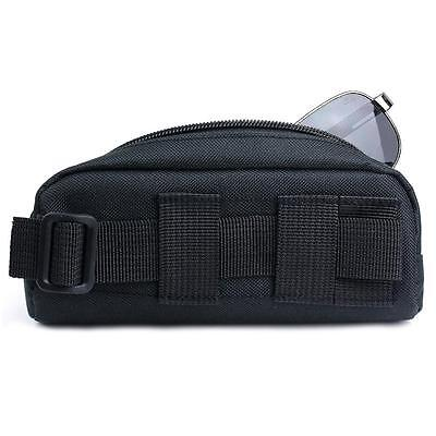 Tactical Molle Sunglasses Carry Case Eyeglasses Bag Outdoor Sport Glasses Pouch