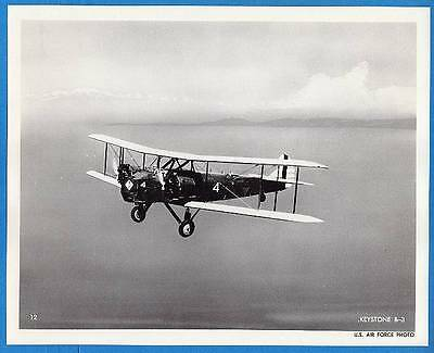 1920s USAAF Keystone B-3 Bomber 8x10 Collotype Print Original Press Item