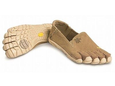 NEW Vibram FiveFingers 14W6201 CVT HEMP Khaki Tan Barefoot Running Shoes NIB