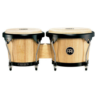 Meinl HB100NT Headliner Series Wood Bongo 6 3/4 inch & 8 inch Natural