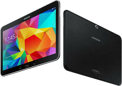 Samsung Galaxy Tab 4 SM-T535 10.1 Tablet Smartphone 16GB WIFI 4G LTE Android Sc