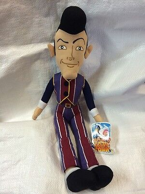 Lazy town robbie rotten soft toy