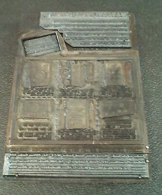 Large Vintage Copper Printing Engraving Plate, Marconi Instruments