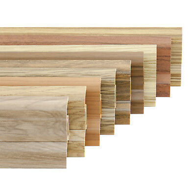 52mm SKIRTING BOARD SAMPLES 52mm x 26mm PVC floor-wall joint modern profile