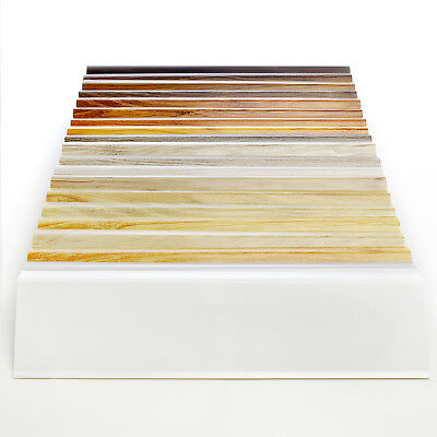 70mm SKIRTING BOARD SAMPLES 70mm x 21mm PVC floor-wall joint modern profile